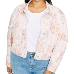 Sanctuary Garden Girl Retro Denim Jacket, Floral